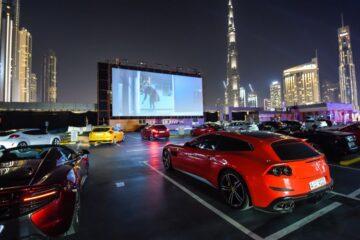 drive-in cinemas in Dubai